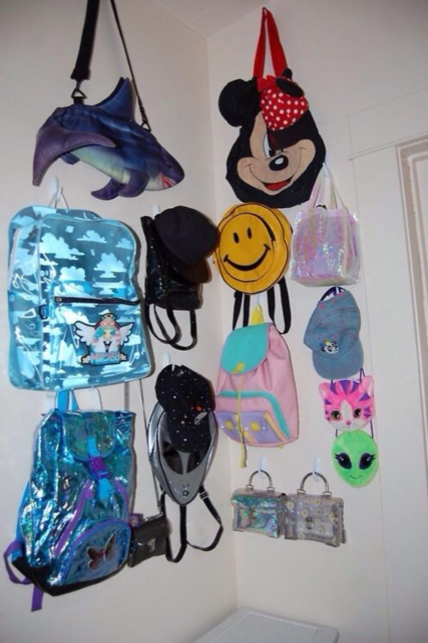 bag tumblr pale soft grunge grunge pop punk holographic swimwear atropina alien 90s style
