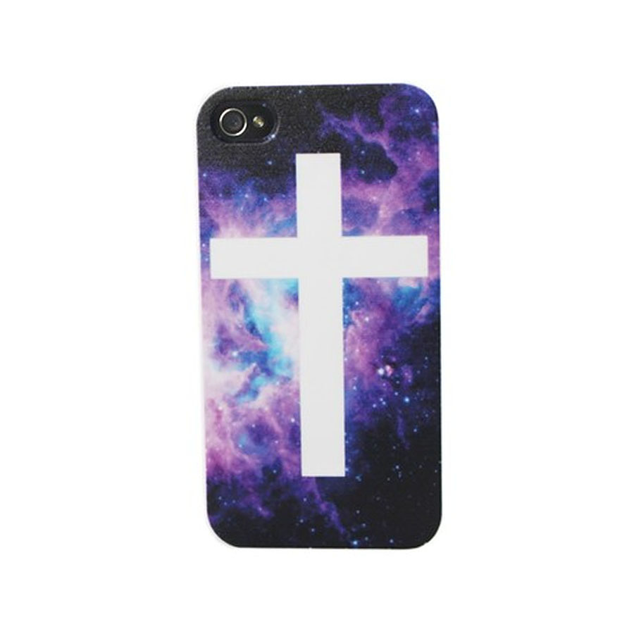 Holy Galaxy Cross iPhone 4 Case | Weekend Warrior