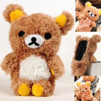 Plush Teddy Bear Iphone Case...Follow me for more:) on Wanelo