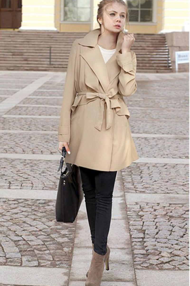 2013 New Fashionable Lapel Windbreaker,Cheap in Wendybox.com