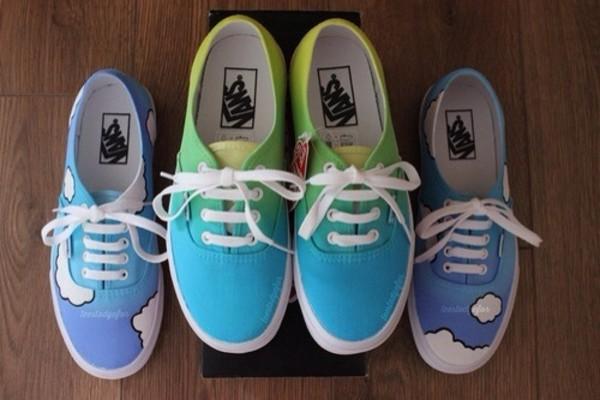 shoes vans cute colorful