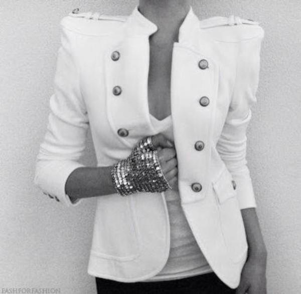 jacket white jacket white on white cardigan strong