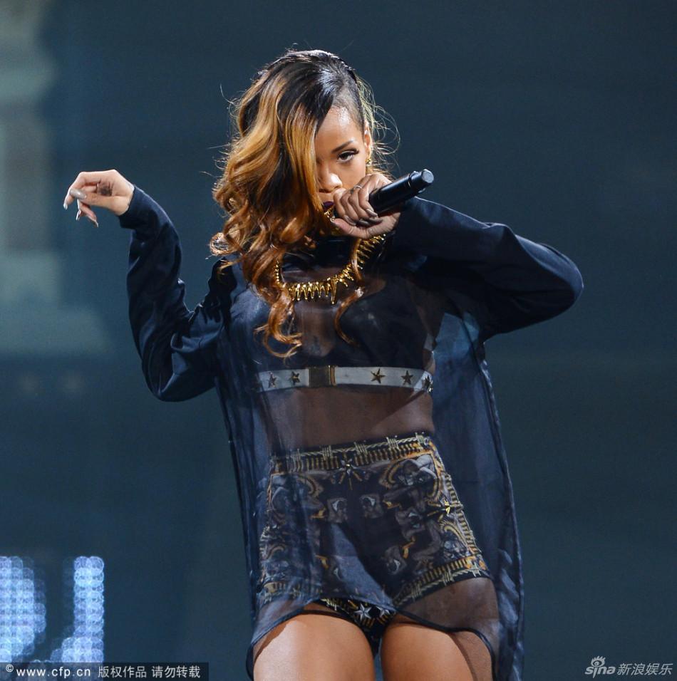 Sexy queen Rihanna fashion loose asymmetrical low high transparent patchwork sweatshirt for women-inHoodies & Sweatshirts from Apparel & Accessories on Aliexpress.com