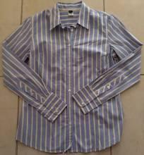 J Crew Long Sleeve Stripe Print Button Down Shirt Size M