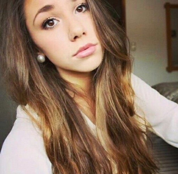 make-up pretty girl