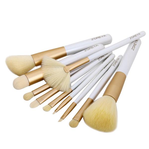 makeup brushes nail polish