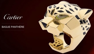 jewels cartier ring panther