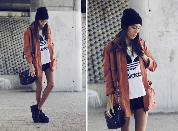 mexiquer jacket t-shirt shorts jewels bag