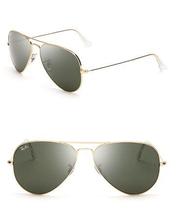 Ray-Ban Aviator Sunglasses | Bloomingdale's