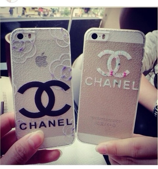 chanel iphone case jewels clear chanel iphone phone cover 5s 3239