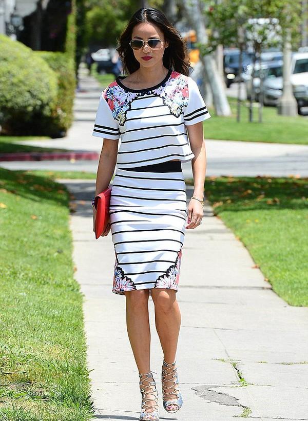 top jamie chung skirt