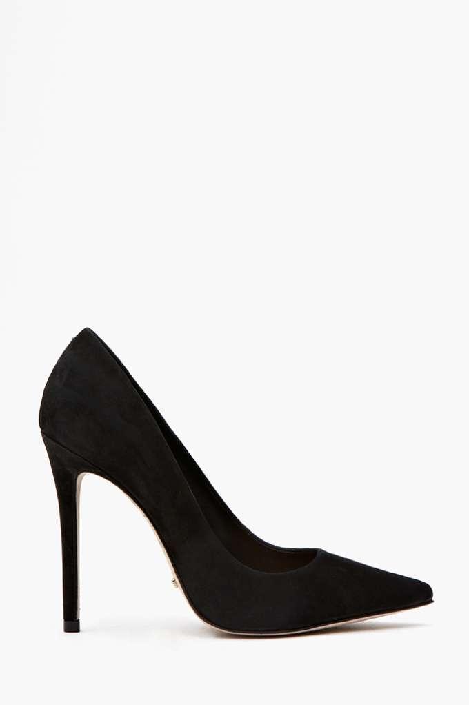 Schutz Libertine Pump - Black  in  Shoes at Nasty Gal