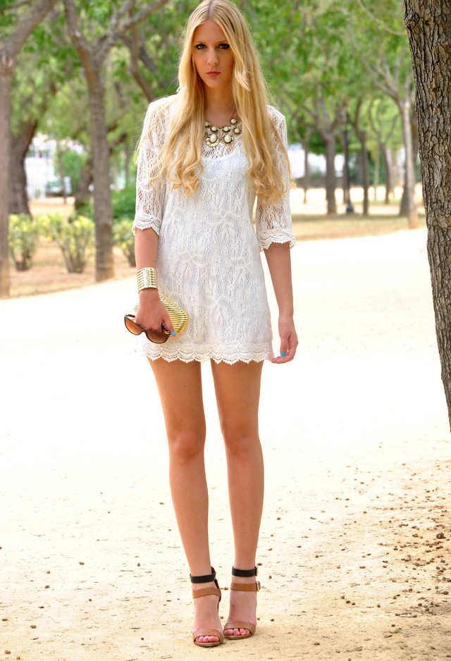White lace | Chicisimo