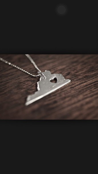 jewels virginia necklace