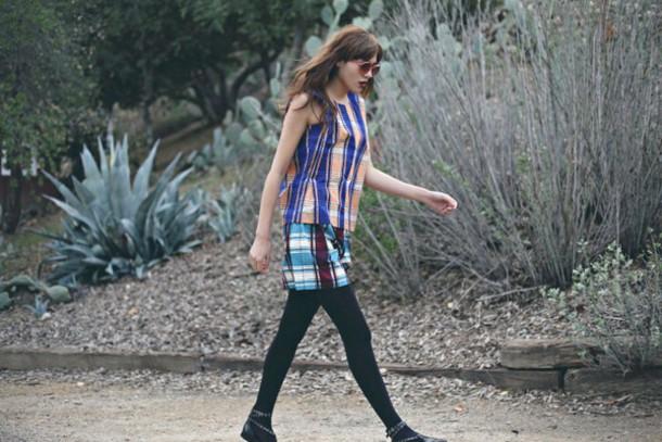 natalie off duty blogger top skirt pattern
