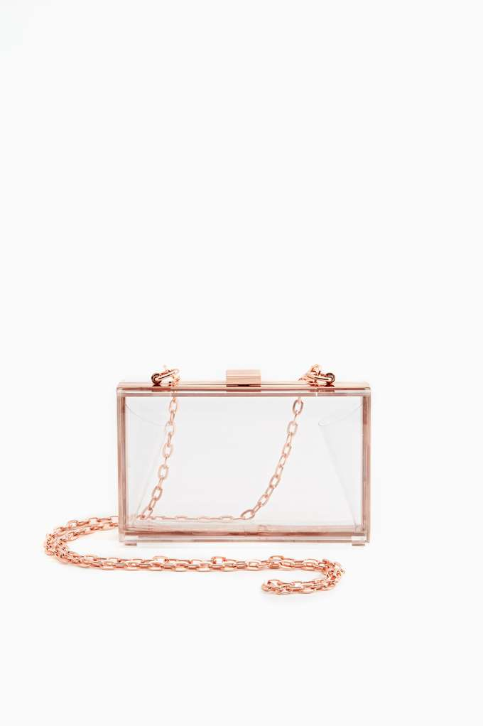 Crystal Glimmer Clutch in  Accessories at Nasty Gal