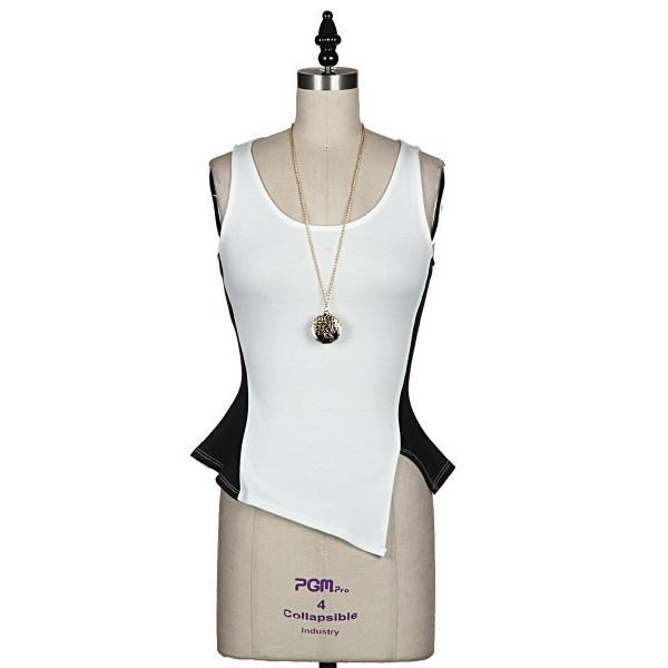 shirt tone tank top white black makeup table vanity row dress to kill chic cute black and white jewels