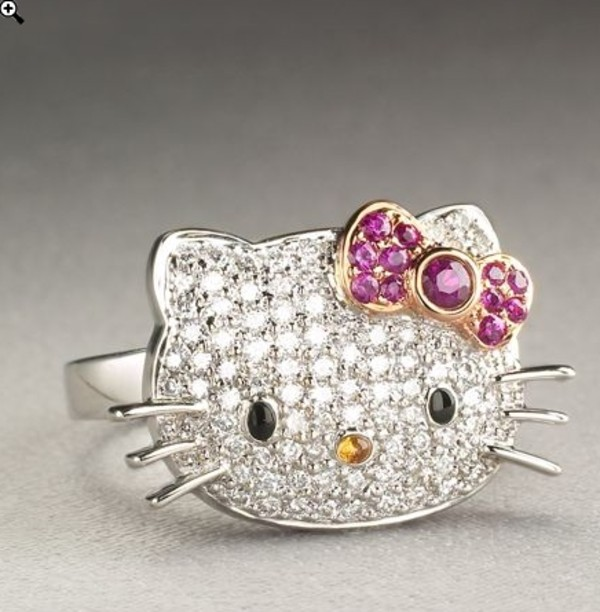 jewels hello kitty ring