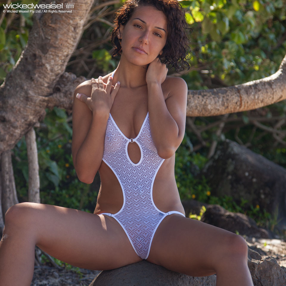 809 Mirage One Piece Swimsuit Bikinis Wicked Weasel