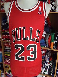 Basketball Shirt Chicago Bulls (48)#23 Jordan NBA USA Jersey Champion Maglia | eBay