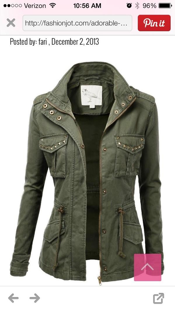 jacket cool studded jacket