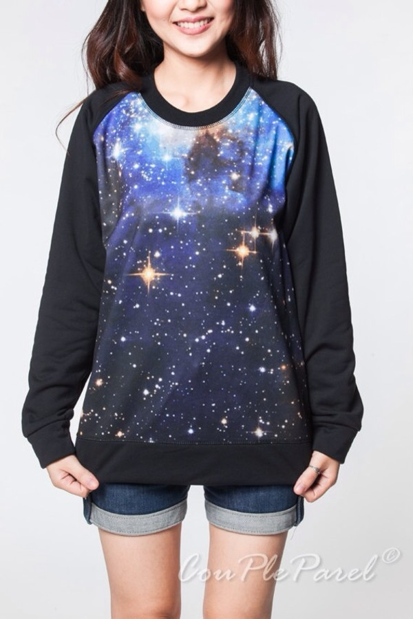 sweater galaxy sweater galaxy print