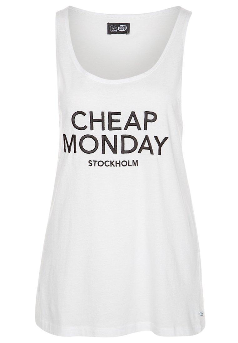 Cheap Monday NOMI - Top - white - Zalando.de