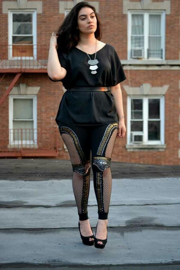 pants plus size curvy fashion iconik