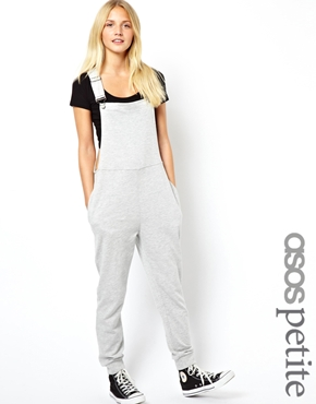 ASOS Petite | ASOS PETITE Exclusive Sweat Dungaree at ASOS
