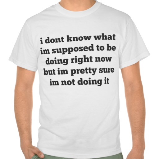 im not doing it tee from Zazzle.com