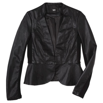 Mossimo® Women's Faux Leather Motorcycle Jac... : Target