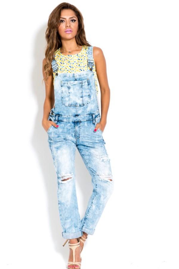 jumpsuit overalls jeans