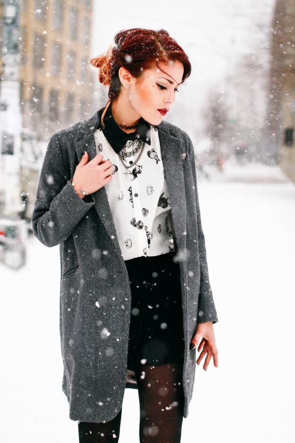 le happy blouse coat jewels