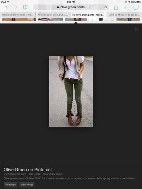 jeans olive green skinny jeans