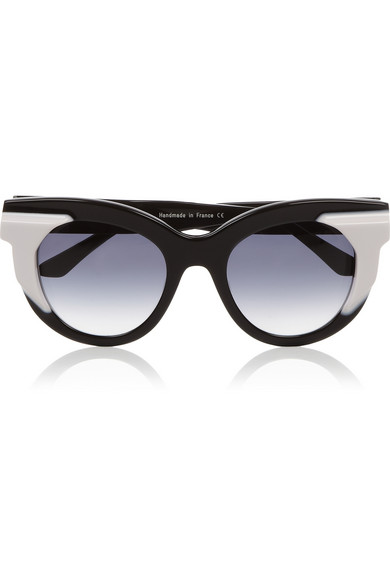 Thierry Lasry | Two-tone acetate cat eye sunglasses | NET-A-PORTER.COM