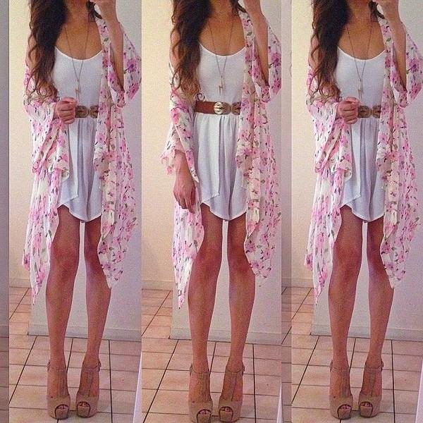 dress summer white jacket shoes coat blouse clothes