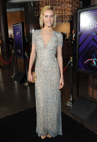 dress gown sparkly sparkly dress isabel lucas prom dress