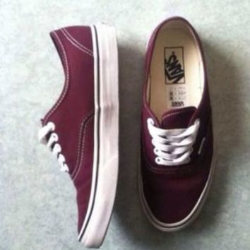Canvas Authentic | Shop New Womens Classics at Vans on Wanelo