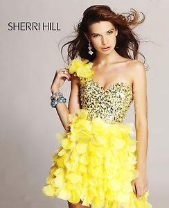 Sherri Hill 8423 Free Jewelry Price Match Dress Homecoming Cocktail | eBay