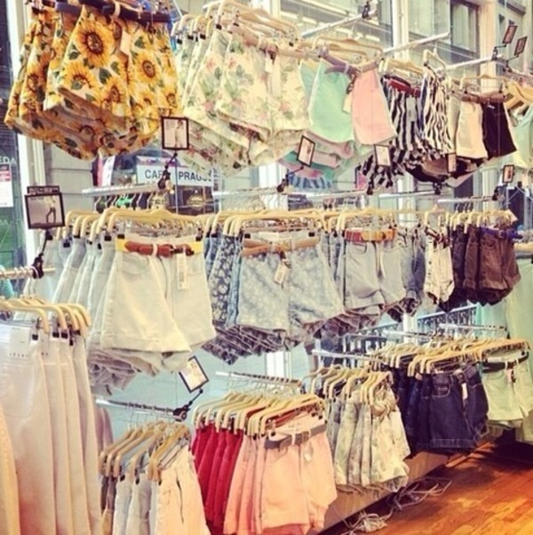 shorts shop high waisted