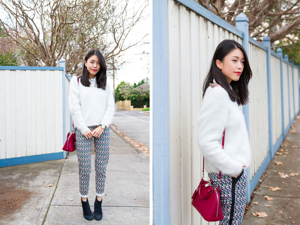k is for kani sweater shirt pants shoes jewels