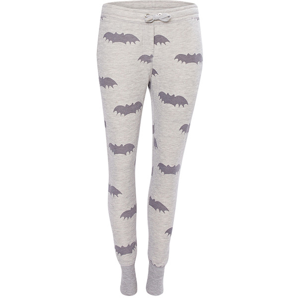 Zoe Karssen Sweatpants Bat Grey - Polyvore