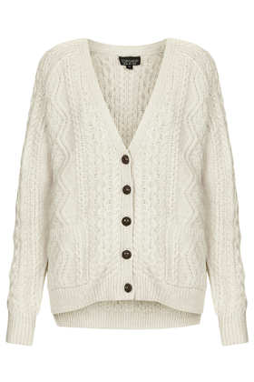Cable Knit Cardigan - Knitwear - View All Sale - Sale & Offers- Topshop USA