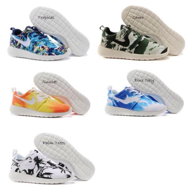 shoes roshes custom style