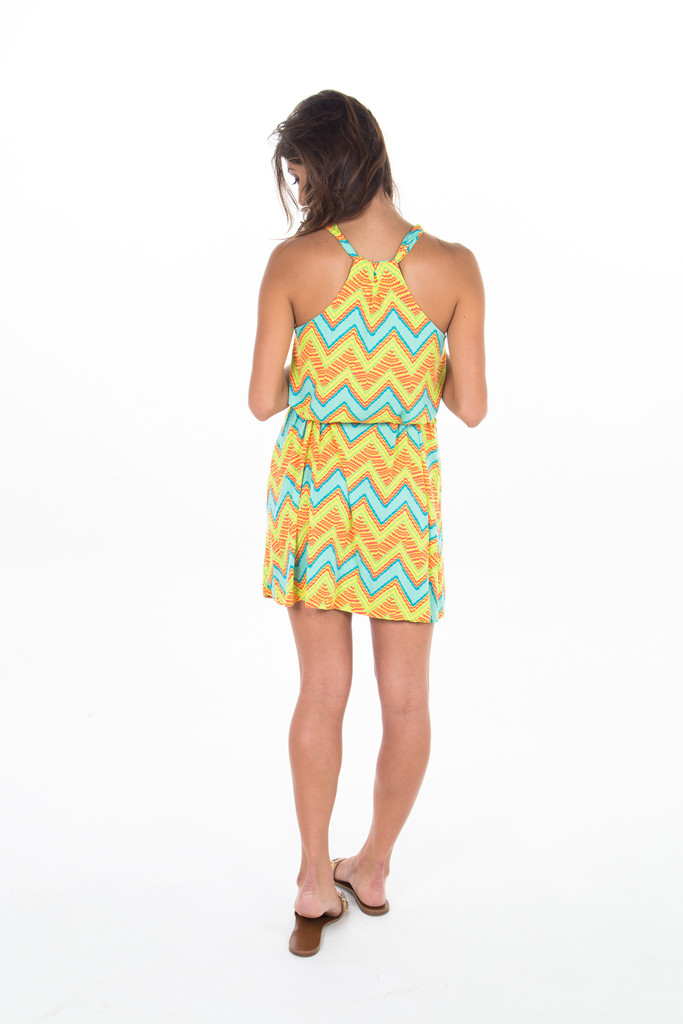 Zigzag Swing Dress – Colocsty