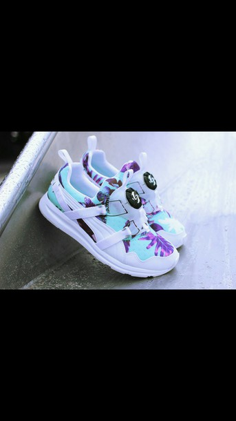 shoes puma disc sneakers