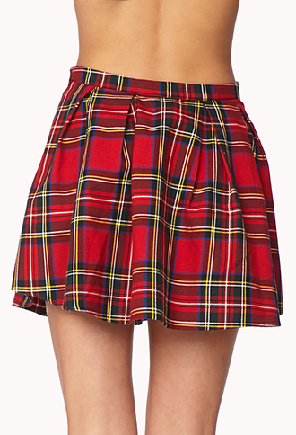 Cool Girl Plaid Skirt | FOREVER 21 - 2000111347