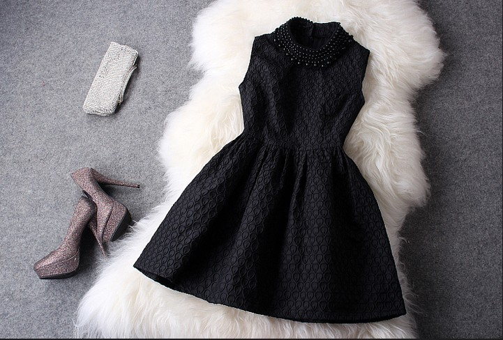 Aliexpress.com : Buy 2013 spring fashion vintage embroidery slim small mid waist  cute princess one piece dress,sleeveless evening  women's dresses from Reliable dress deer suppliers on MoriGirls