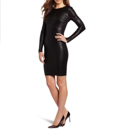 New Sexy Lambskin Leather Ladies Dress Tailor Made Custom Women Party Dress D 36 | eBay