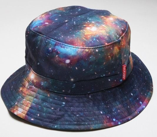 Just Hype Galaxy Space Print Bucket HAT Supreme HUF Quiet Life Neff | eBay